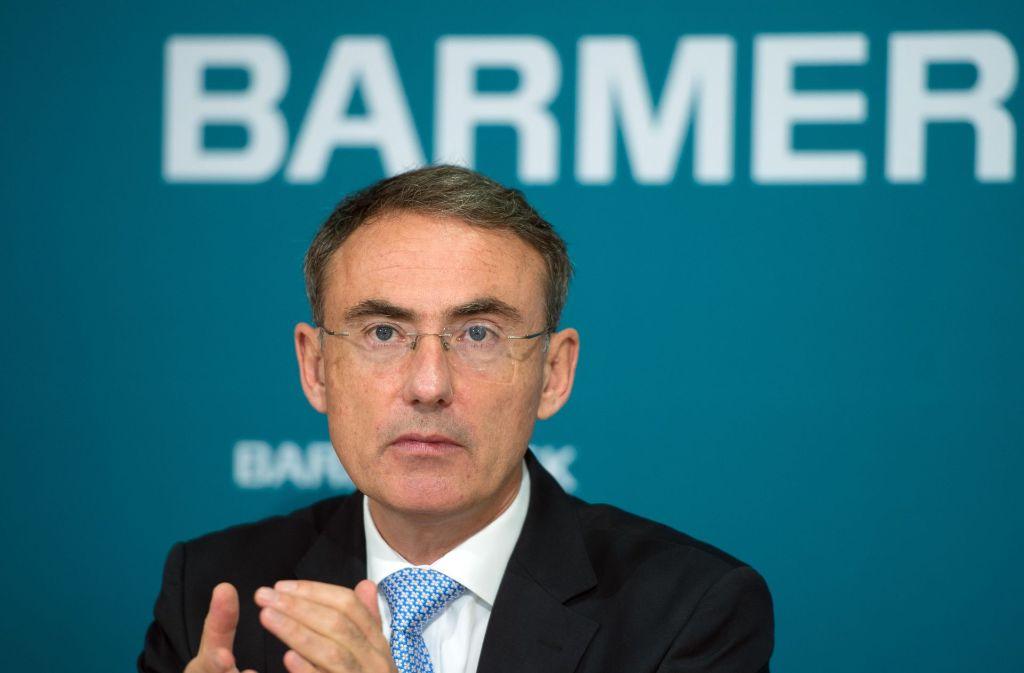 Barmer-Chef Christoph Straub sieht handlungsbedarf. Foto: dpa