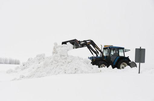 Noch mehr Schnee und große Sorgen vor Lawinen