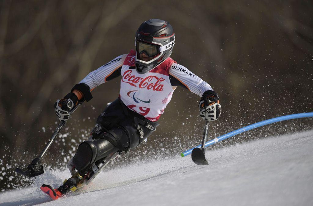 Bei den Paralympics 2018 gewann Anna-Lena Forster aus Baden-Württemberg Gold. Foto: OIS/IOC