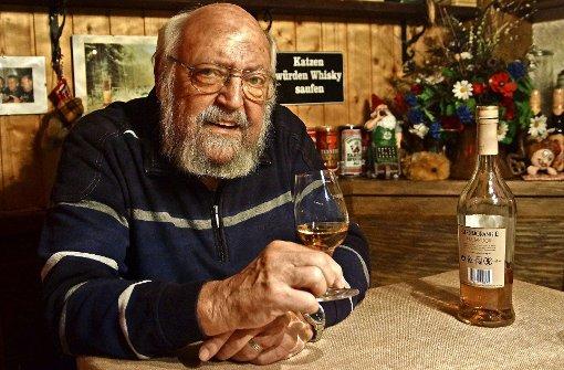 Exklusive Whisky-Raritäten im Regal