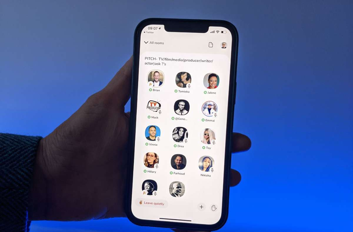 Die App Clubhouse überholt Apps wie Telegram, Zoom und TikTok in den deutschen Download-Charts des Apple-App-Stores. Foto: dpa/Christoph Dernbach