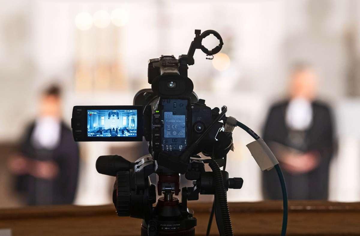 Die evangelische Landeskirche widmet sich dem Pfarrdienst im digitalen Raum. Dabei geht es um mehr als die Online-Übertragung von Gottesdiensten. Foto: picture alliance/dpa/Uli Deck