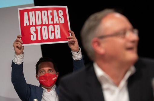 95 Prozent für SPD-Landeschef Stoch