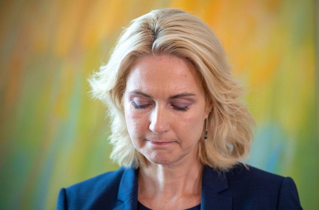 Manuela Schwesig hat die die Krebs-Therapie gut überstanden (Archivbild). Foto: dpa/Jens Büttner