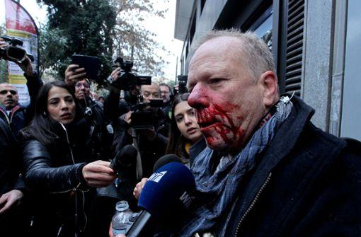 Deutscher Journalist bei Rechten-Demo in Athen verletzt