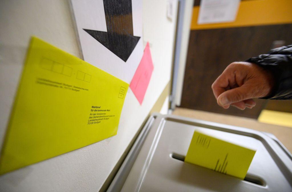 Das  Wahlsystem bei den Kommunalwahlen in Baden-Württemberg ist mitunter kompliziert. Foto: dpa/Sebastian Gollnow