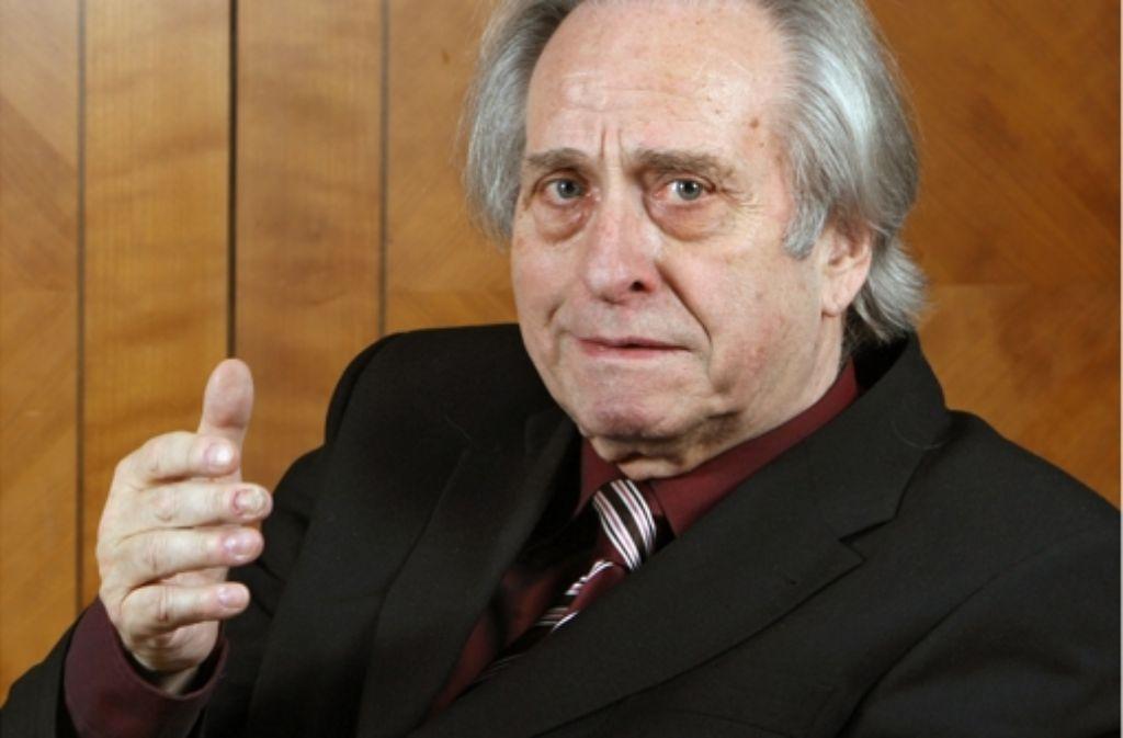 Mehr als 30 Jahre lang drückte Wolfgang Gönnenwein den Ludwigsburger Festspielen seinen Stempel auf. Foto: dpa