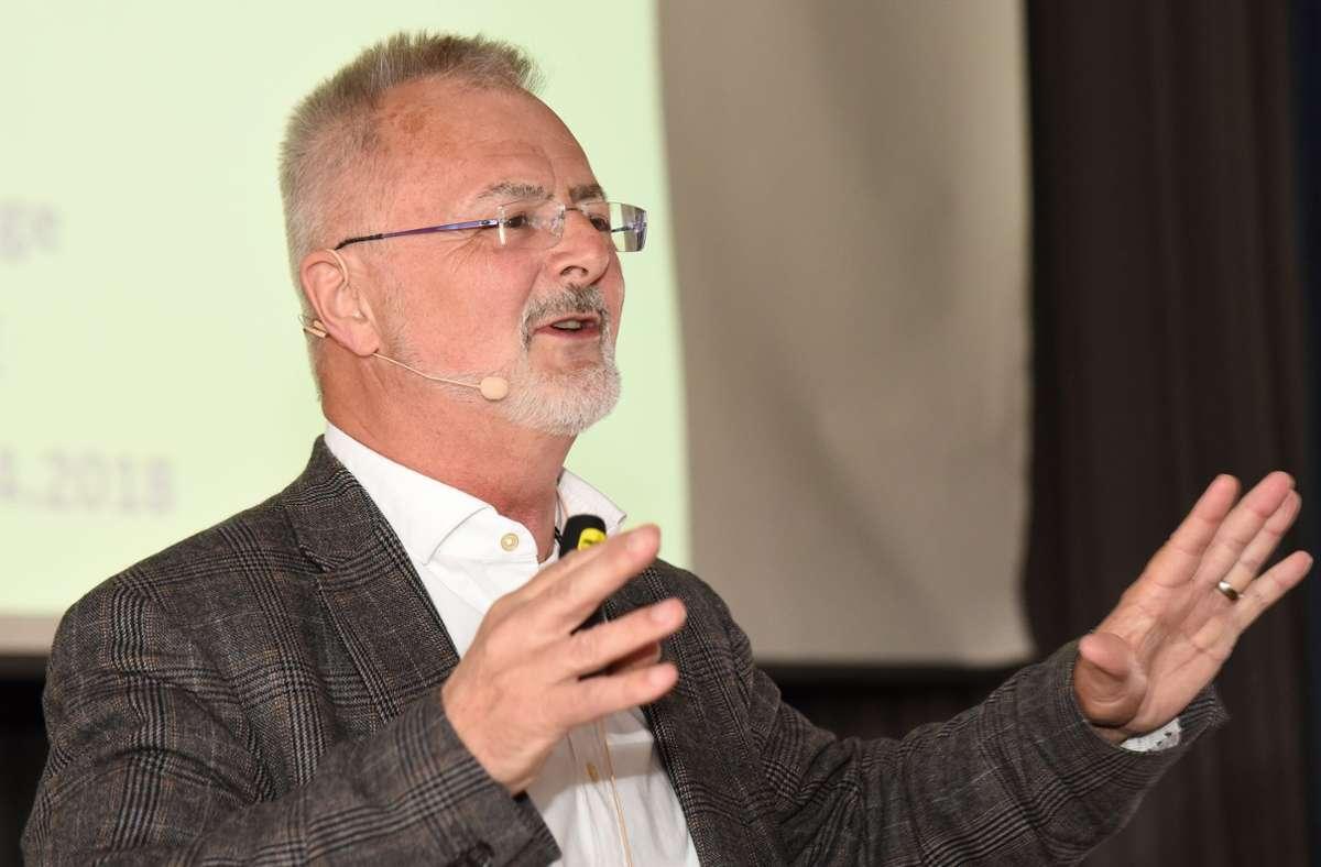 Martin Runge war viele Jahre lang Direktor der Aerpah-Klinik in Esslingen-Kennenburg. Foto: Guenter E. Bergmann
