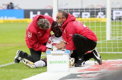 VfB gegen die Bayern wohl auch ohne Torjäger Akolo