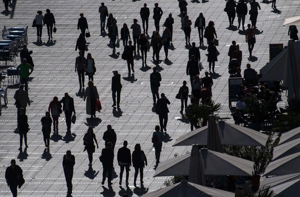 Stuttgart bleibt eine junge Stadt. Foto: dpa