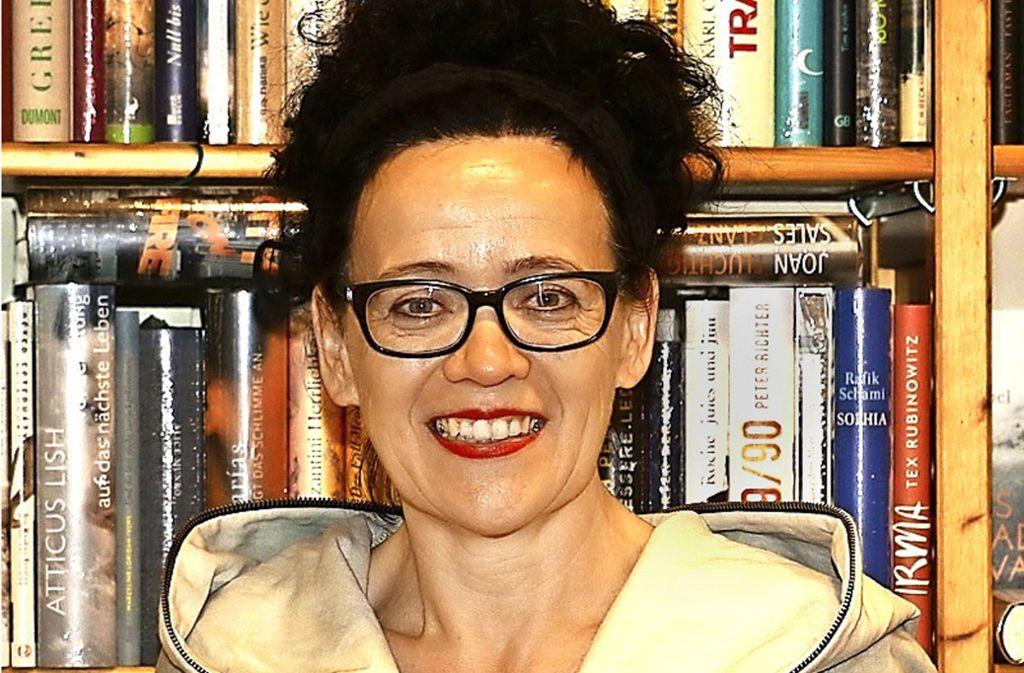 Uscha Kloke ist Inhaberin einer der besten Buchhandlungen Deutschlands Foto: privat