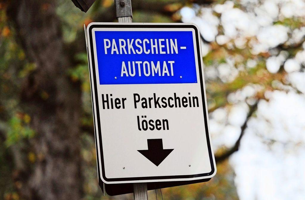 Parkscheine sind in Leonberg umstritten. Foto: dpa