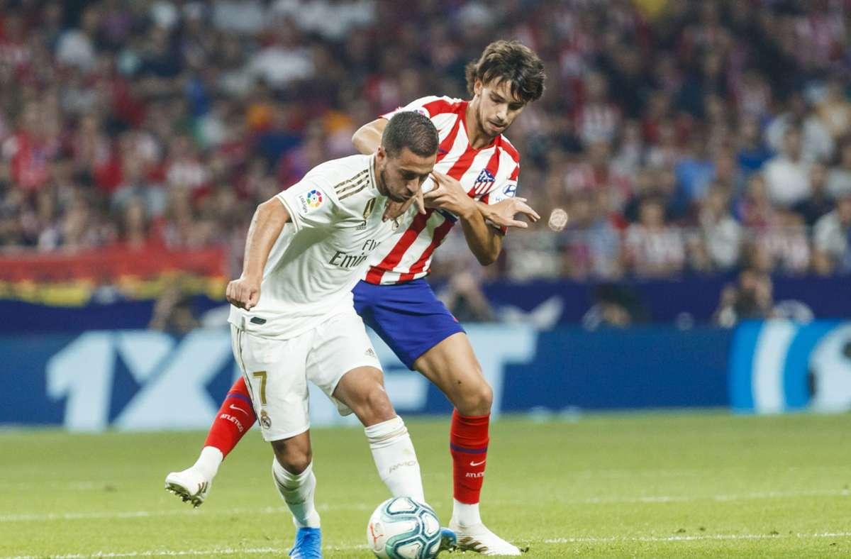 Eden Hazard und Joao Felix wechselten 2019 für viel Geld ihre Vereine. Foto: imago images/Pablo Garcia