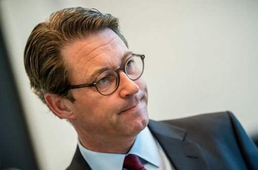 Verkehrsminister Scheuer  im Verteidigungsmodus