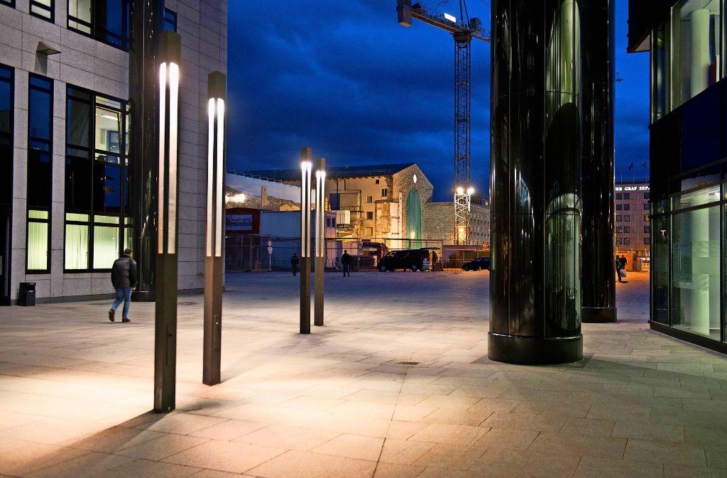 Die Menschen wünschen sich ein schöneres Bankenviertel. Foto: Martin Stollberg