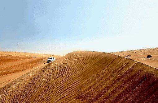 Maskat: Achterbahn im Sand