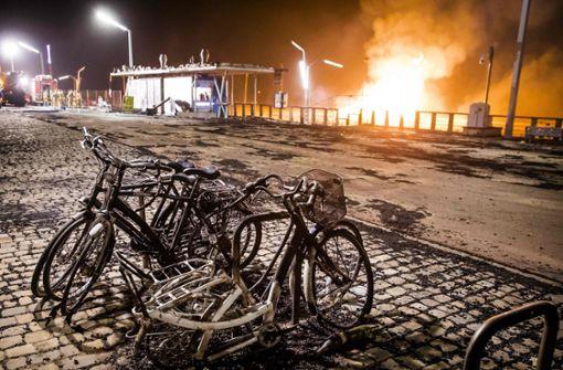 Feuertornado auf Silvester-Party in den Niederlanden