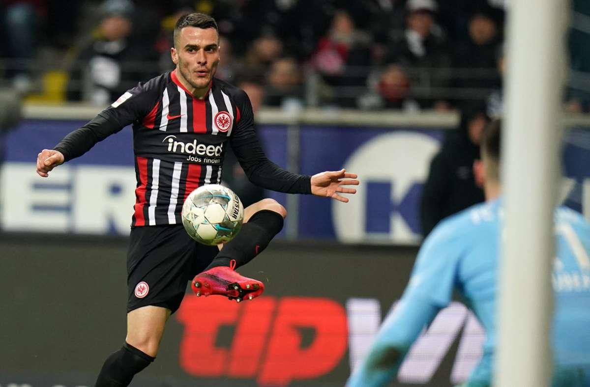 Filip Kostic blühte bei der Eintracht auf. Foto: dpa/Thomas Frey