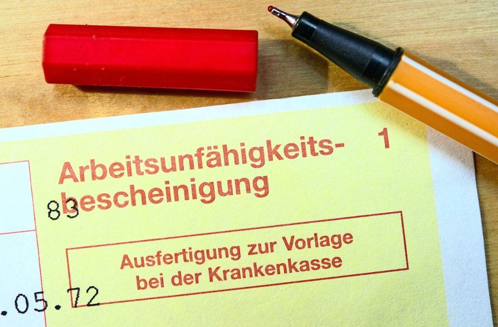 Weil sie nicht krank geschrieben wurden, hat ein Ehepaar aus Ludwigsburg zuletzt zwei schwierige Wochen erlebt. Foto: dpa/Patrick Pleul