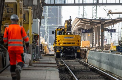 Bauboom verteuert Bahn-Projekte massiv