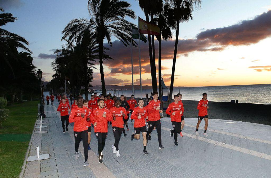 Am Sonntag stand noch ein lockerer Lauf zum Abschluss an. Foto: Pressefoto Baumann/Hansjürgen Britsch