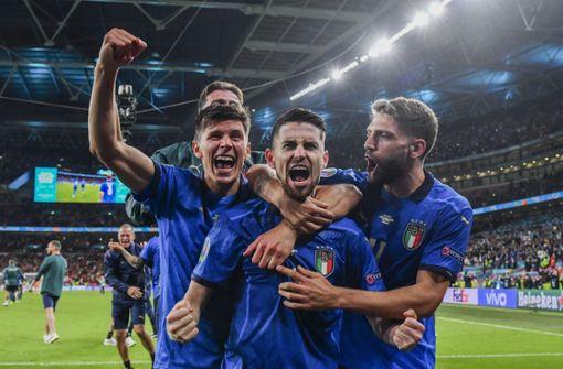 Hier läuft Italien gegen England im TV