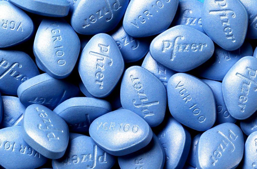 Vor 20 Jahren wurde das Potenzmittel Viagra zugelassen. Foto: Pfizer