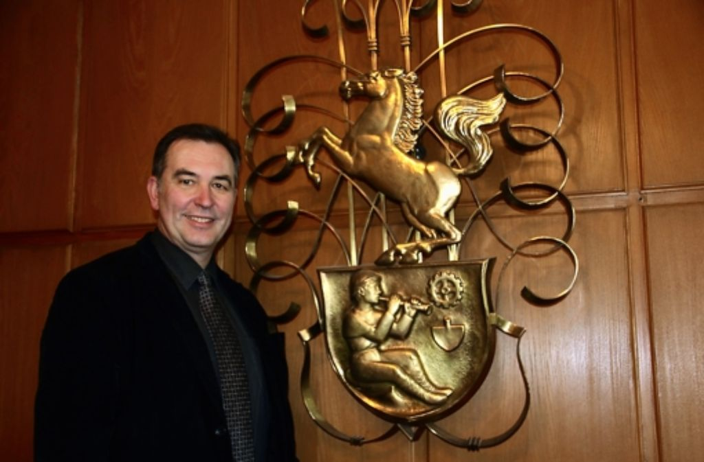 Für Bezirksvorsteher Gerhard Hanus war 2012 ein ereignisreiches Jahr. Foto: Bernd Zeyer