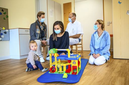 Hilfe für Familien mit schwer kranken Kindern