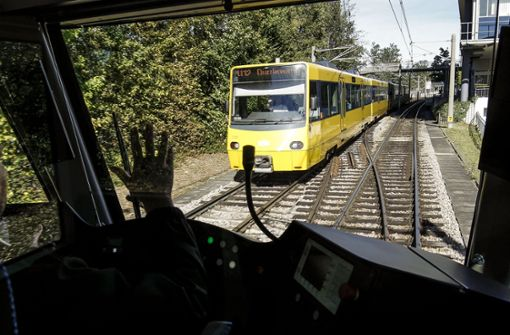Wegen Bauarbeiten keine Stadtbahn