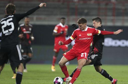 Bayern nur 1:1 bei mutigen Unionern