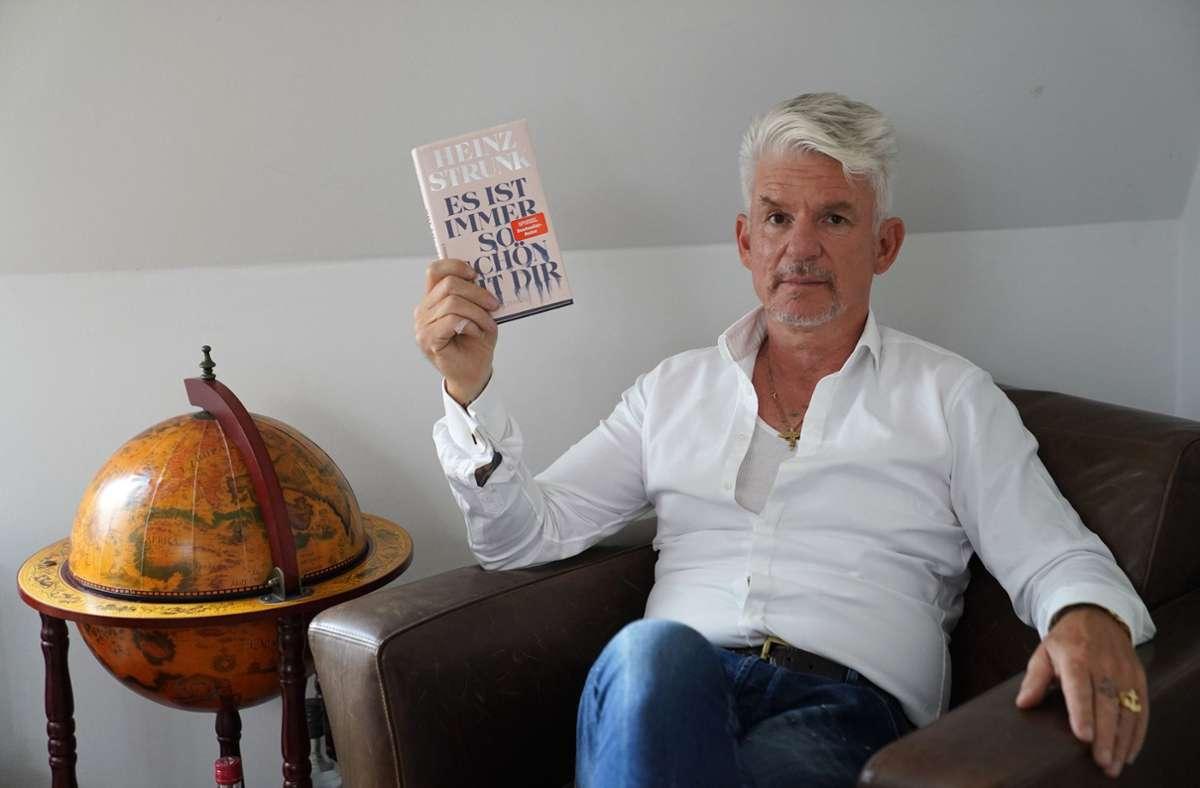 Heinz Strunk am 15. Juli mit seinem neuen Werk Foto: dpa/Marcus Brandt