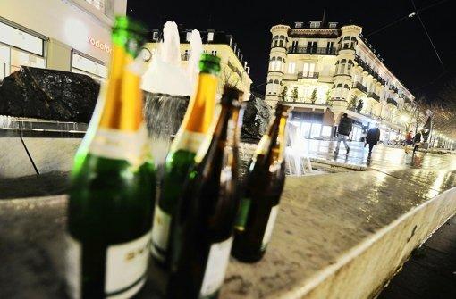 Öffentliche Trinkgelage rufen unter Anwohnern und  Passanten  Unmut hervor. Foto: dpa