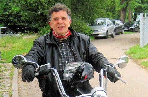 Der Polit-Querkopf auf dem Motorrad
