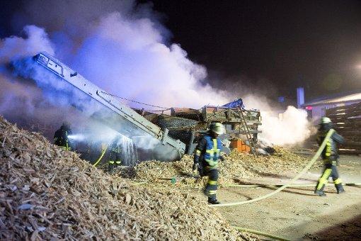 Über 100 Mann bei Großbrand im Einsatz
