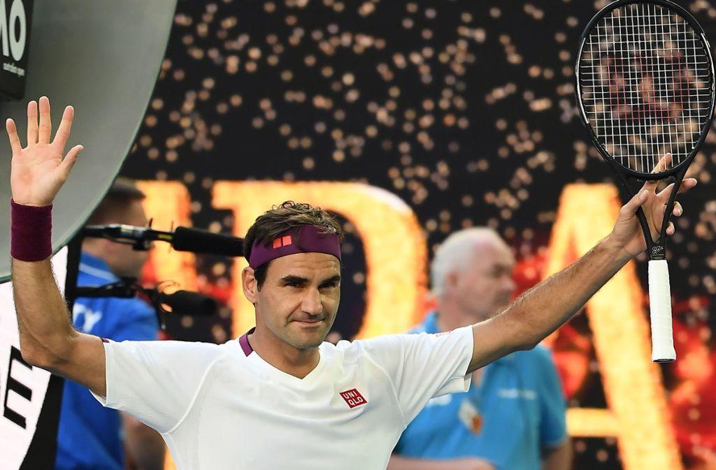 Roger Federer: Die Nummer eins der Forbes-Geldrangsliste. Foto: AFP/Manan Vatsyayana