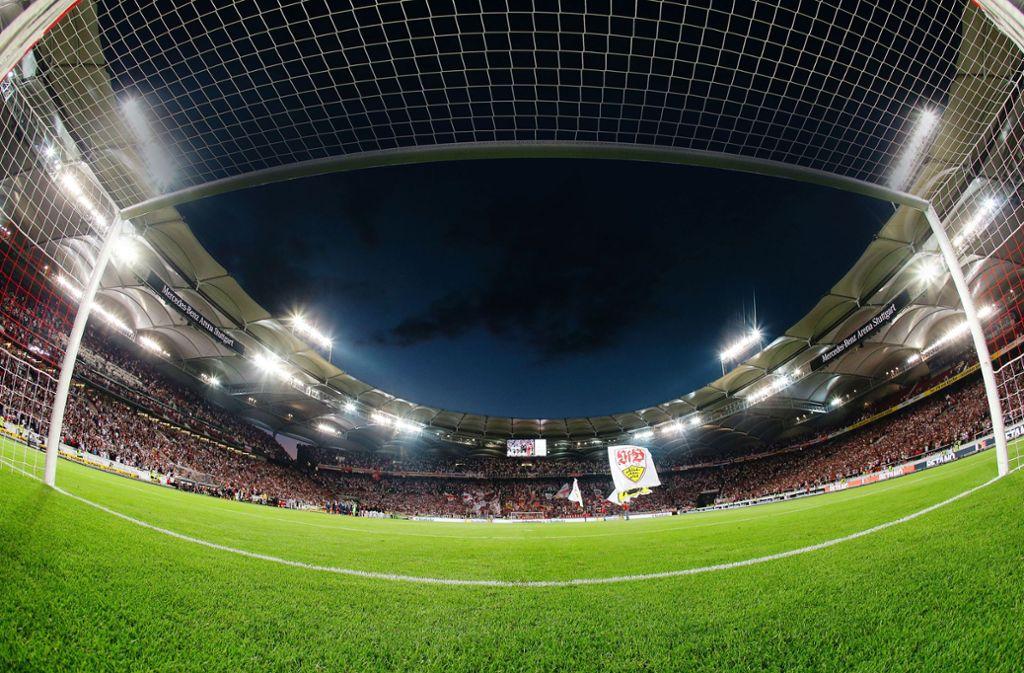 Stuttgart ist Austragungsort von Spielen der EM 2024. Dafür muss die Mercedes-Benz-Arena wieder einmal modernisiert werden. Foto: Baumann/Hansjürgen Britsch