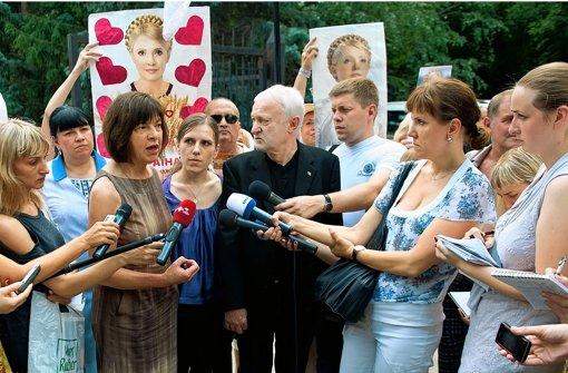 """""""Timoschenko hat gratuliert"""""""