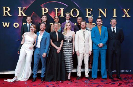 Promi-Schaulaufen bei X-Men-Premiere