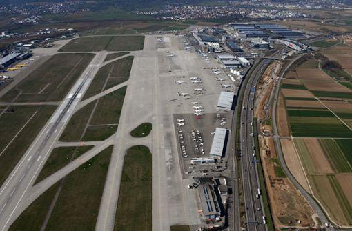 Stuttgarter Flughafen ist seit Montag dicht