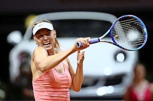 Scharapowa kehrt auf die Tennisbühne zurück