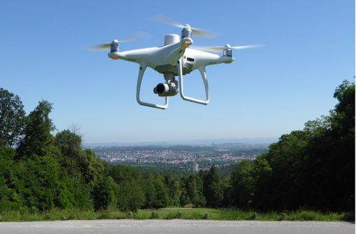 Warum über Vaihingen Anfang Mai eine Drohne fliegt