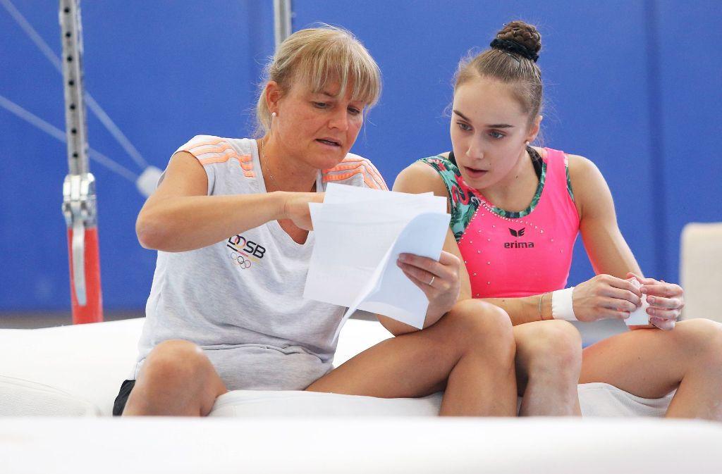 Trainerin Marie-Luise Probst-Hindermann wird bei der WM Tabea Alt die Daumen drücken. Foto: Baumann