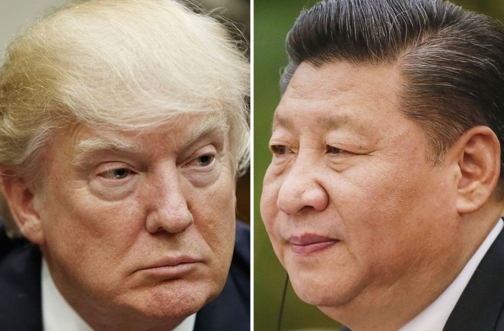 Donald Trump und Xi Jinping kennen sich noch nicht persönlich. Das ändert sich nun. Foto: AP