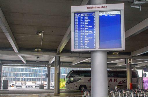 Stuttgarter Fernbus-Bahnhof kommt wieder auf Platz eins