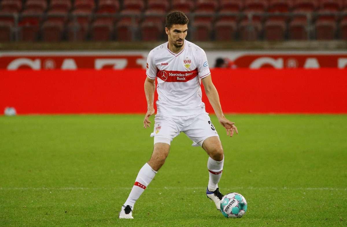 Marcin Kaminski könnte in Berlin wieder einmal in die VfB-Startelf rutschen. Foto: Pressefoto Baumann/Hansjürgen Britsch