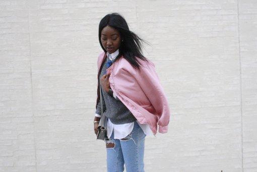 Griselda Henssler (21) steht hinter Eco Fashion, doch manchmal findet sie auch fernab des Stores schöne Kleidungsstücke... Foto: Nadja Dilger