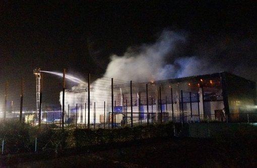 Geplante Flüchtlingsunterkunft brennt aus