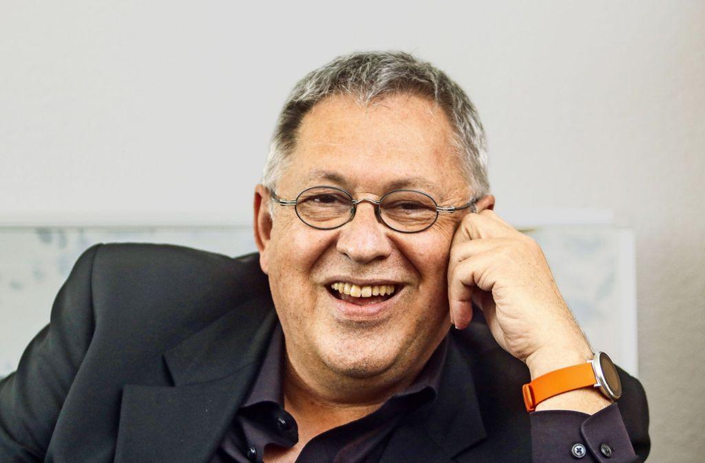 Manfred Schröder ist auch  in der größten Herausforderung Optimist geblieben. Foto: factum/ /Simon Granville