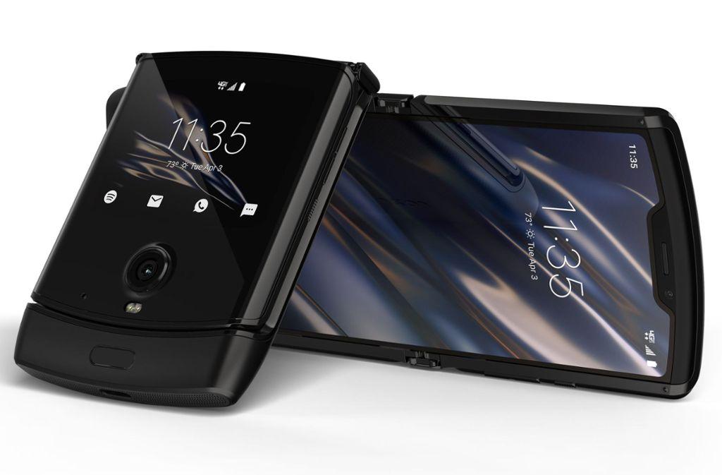 Motorola bringt ein faltbares Smartphone auf den Markt. Foto: dpa